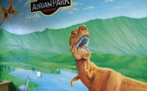 "Mural para particular ""Adrián park"""
