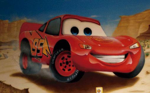 "Mural para particular ""Cars"""