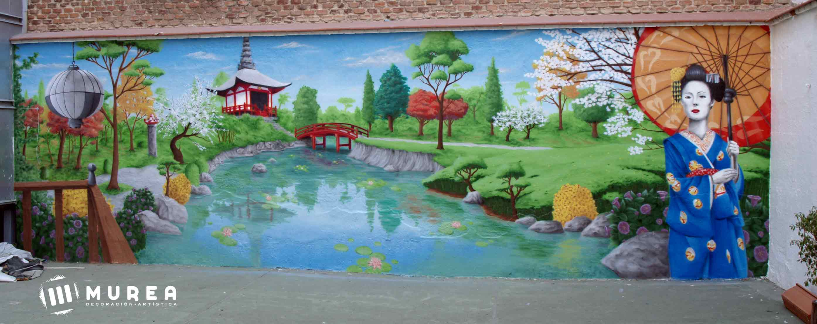Murales decorativos y exteriores Murales decorativos para exteriores