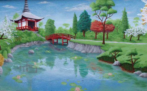 """Mural """"Japón"""""""