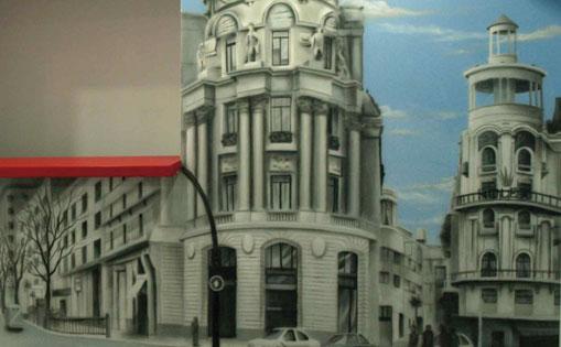 """Mural """"Metropolis"""""""