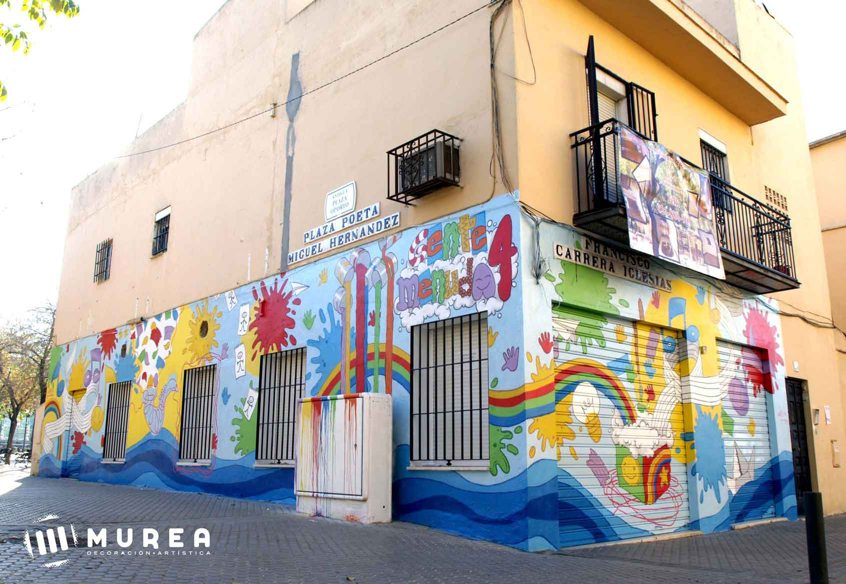 Murales infantiles pintados a mano - Murales infantiles pintados a mano ...