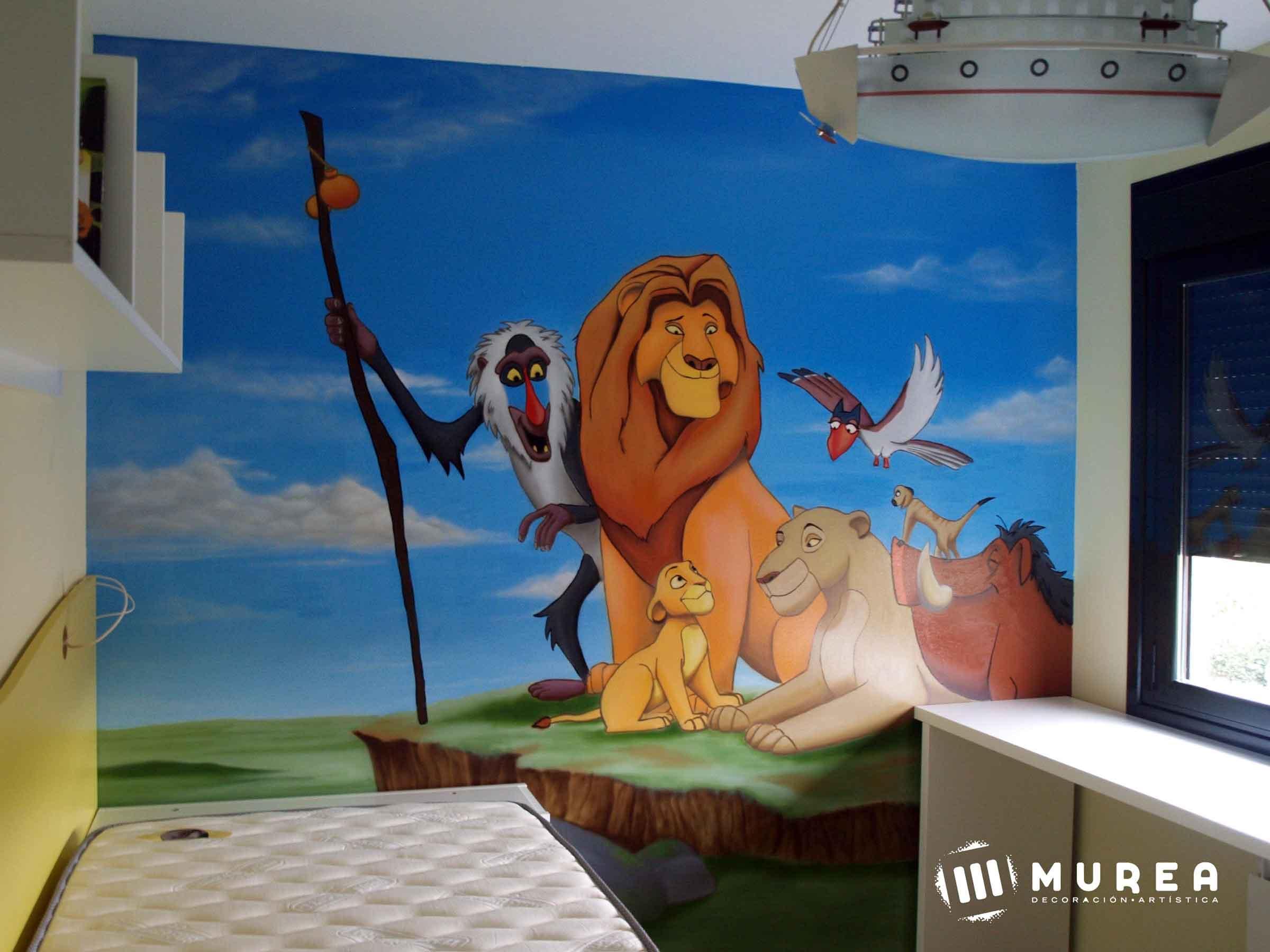 Murales infantiles pintados a mano - Murales pintados a mano ...