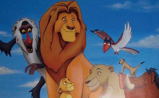"Mural para particular ""Rey león"""