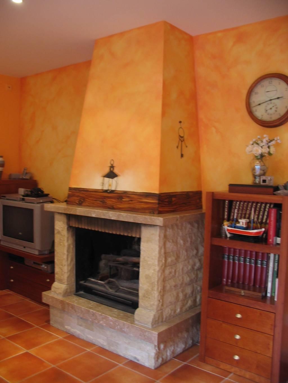 Hazlo tu mismo decora tus paredes murea murales a mano - Tecnicas de pintura paredes ...