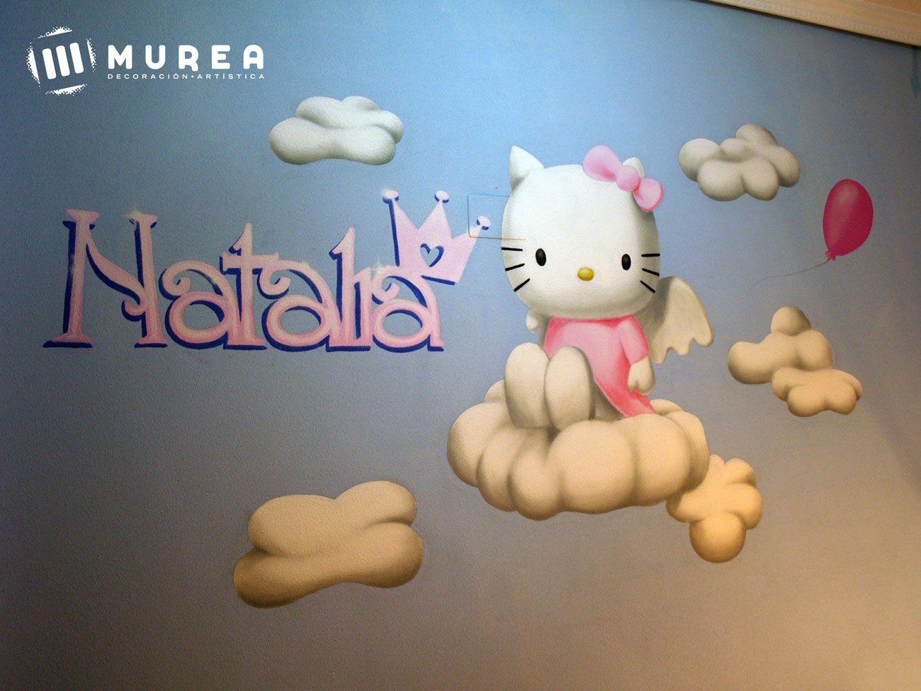 "Mural ""Hello kitty"""