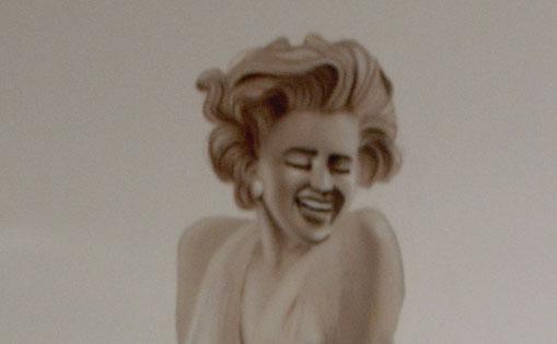 """Mural decorativo para restaurante """"Be a bop lula"""""""