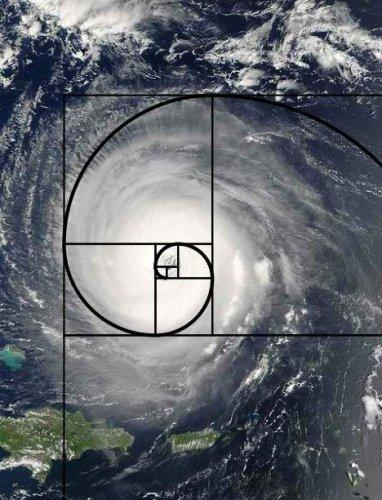 Proporción áurea en los tornados.