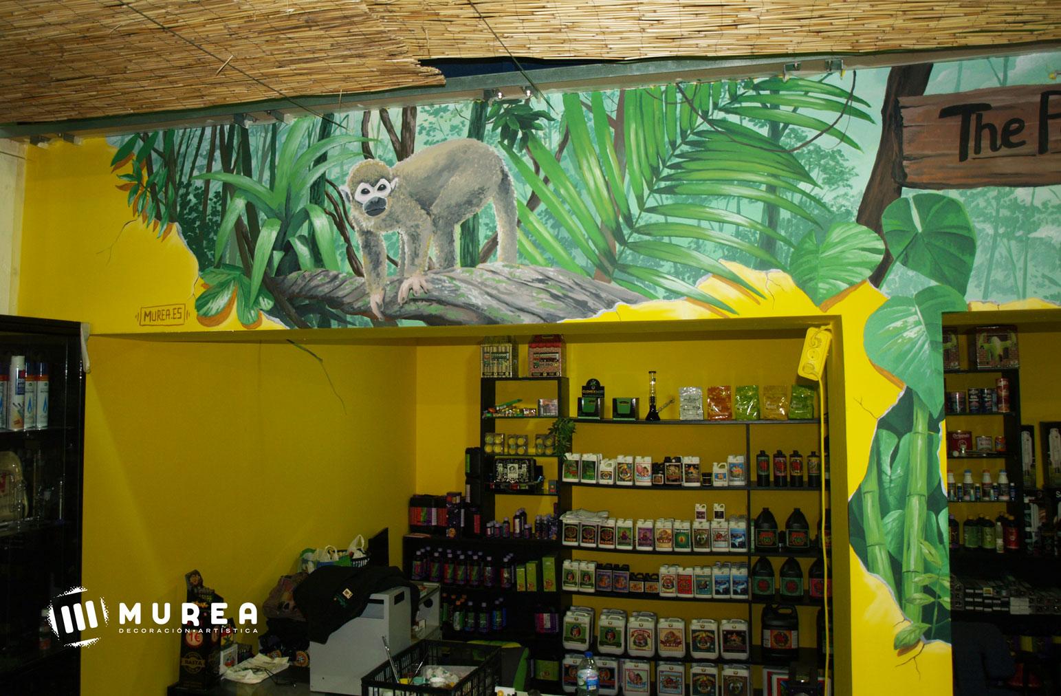 Murales decorativos y exteriores pintados a mano for Comprar murales para pared
