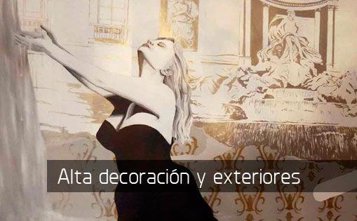 Murales decorativos y exteriores