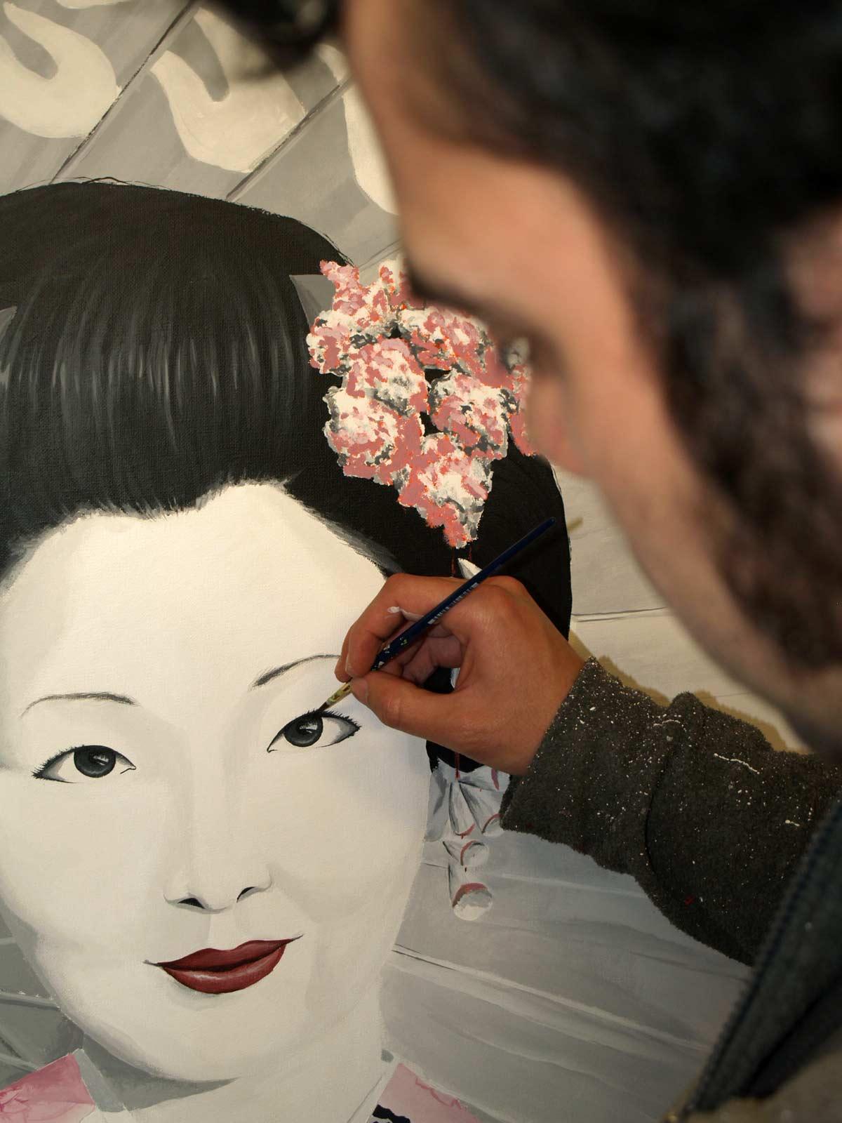 Javier Lobo, pintor y muralista