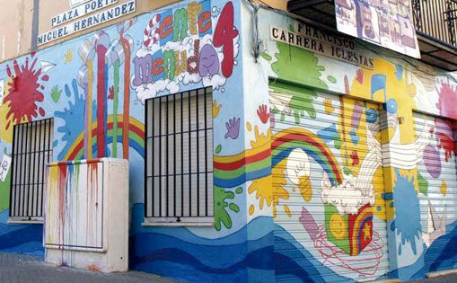 Mural para guardería