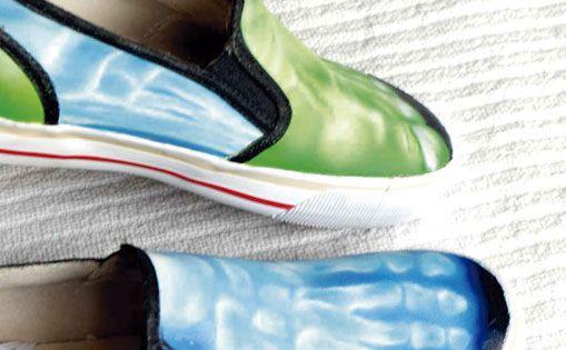 """Personalización de zapatillas para particular, """"Hulk"""""""