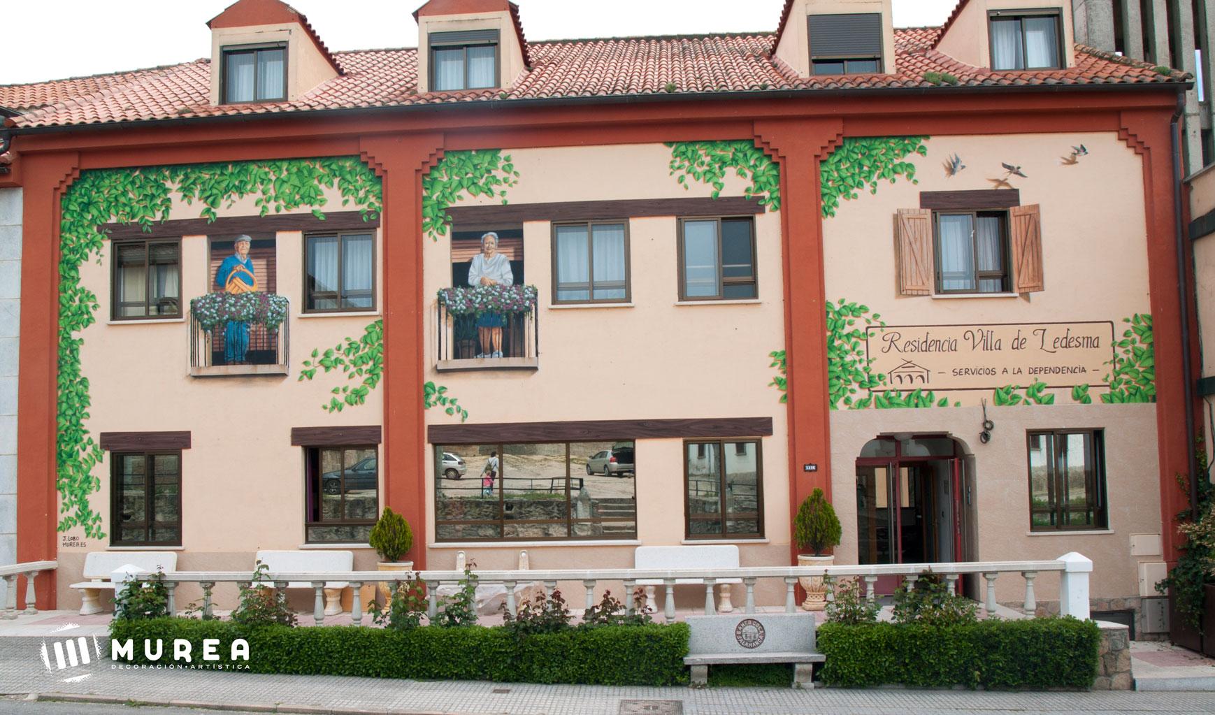 Mural decorativo para Residencia Villa Ledesma, Ledesma 2016