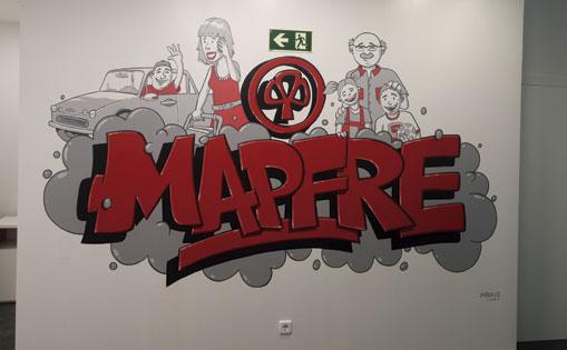 Mural realizado para particular. Madrid 2016