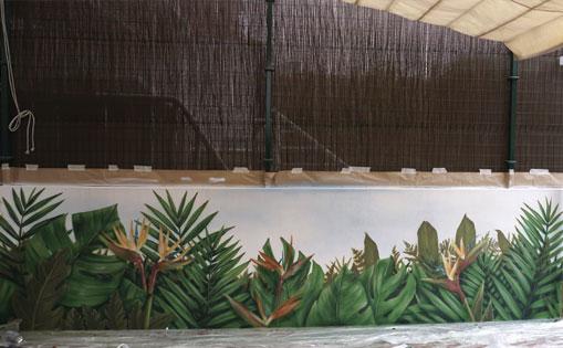 Mural para CMRF Imserso. Albacete 2019.