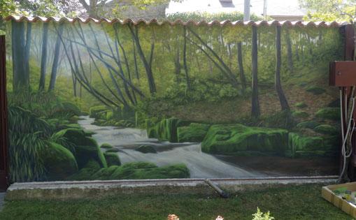 Mural para particular. Boadilla 2021